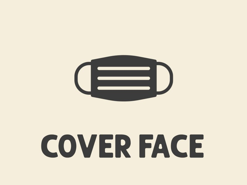 cover face