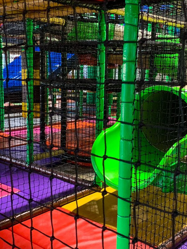 Enjoy our Giant Indoor Play Area!