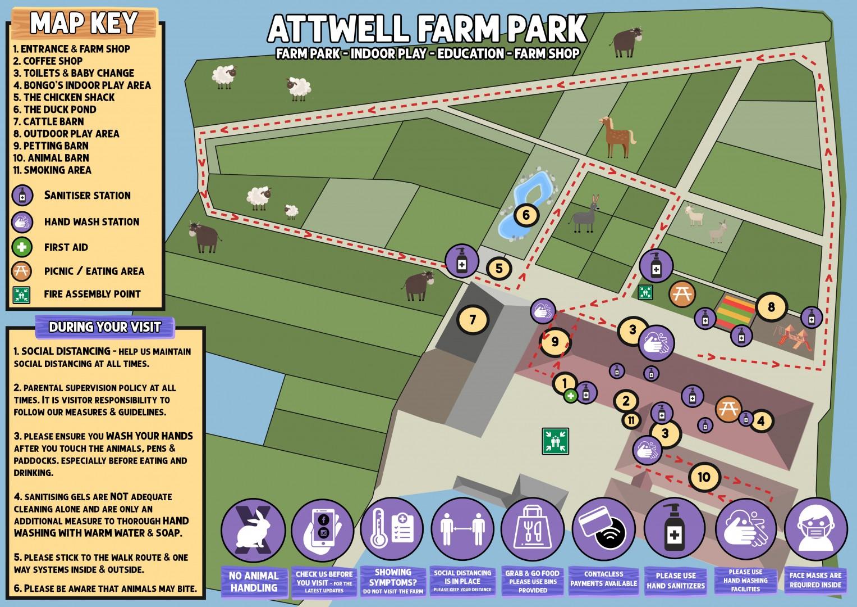 Farm Park Map